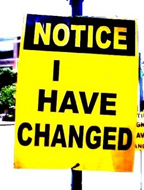 Changed Person - I have changed