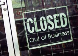 Failing Business Closed