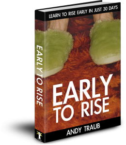 Andy Traub's Early to Rise book on Amazon