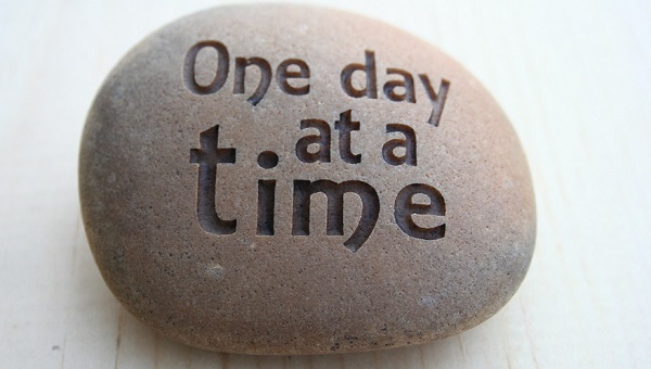 One Day at a Time - Living in the Present