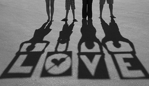 Love is patient. Love is kind. Love in the family and at work.