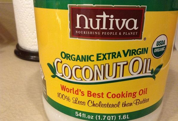 Nutiva Coconut Oil Cholesterol Free