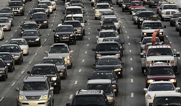 Traffic Jam During Commute