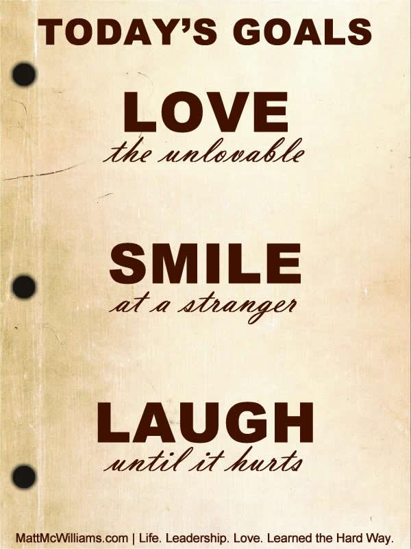 Love Smile Laugh