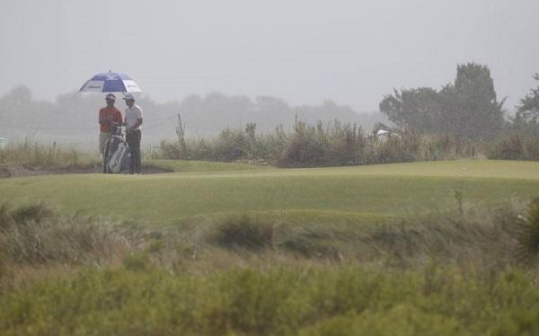 Rainy Golf Weather