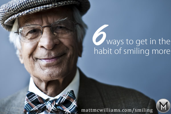 The Secret to Smiling More Often