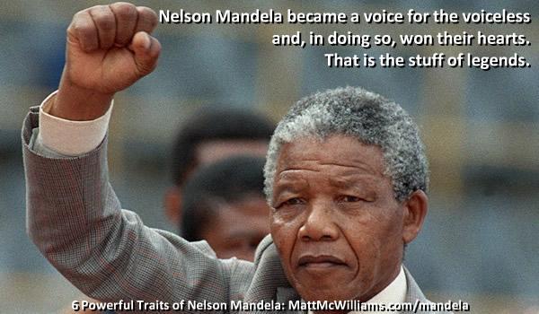 Life lessons from Nelson Mandela