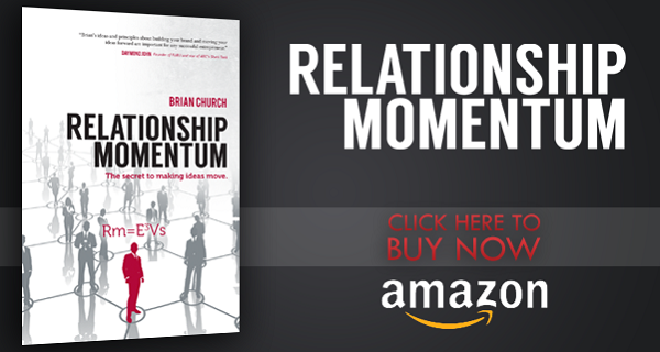 Relationship Momentum by Brian Church on Amazon