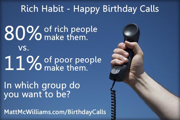 Rich Habit - Happy Birthday Calls