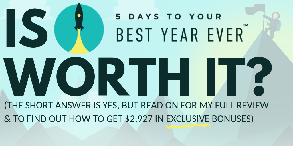 Don't Buy Michael Hyatt's Your Best Year Ever & Miss These