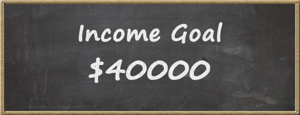 Income goal