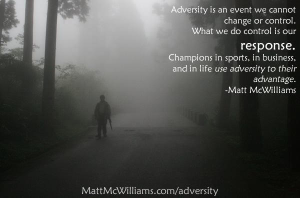 conquering adversity in the life of Conquering adversity shaping our character and molding our behavior for the rest of our life adversity can take countless forms.