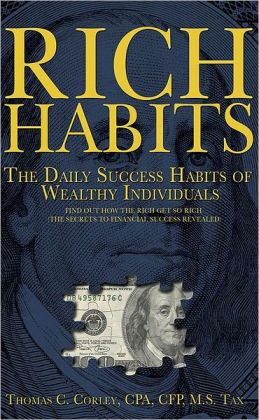 Rich Habits book by Tom Corley
