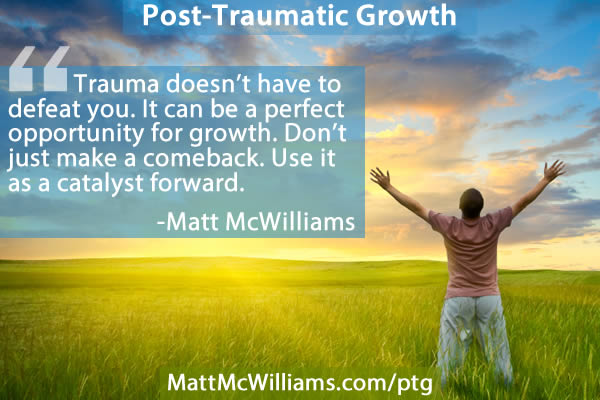 Post Traumatic Growth PTG