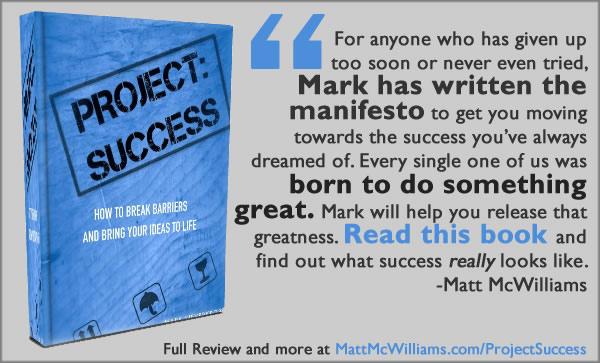 Project:Success Book by Mark Sieverkropp