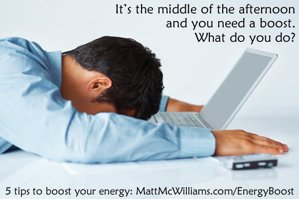Boost your Energy at Work
