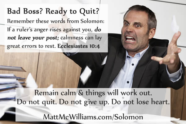Solomon Quote: \