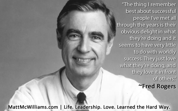 Best Mr Rogers Quotes Fred Rogers Quote on Successful People Best Mr Rogers Quotes