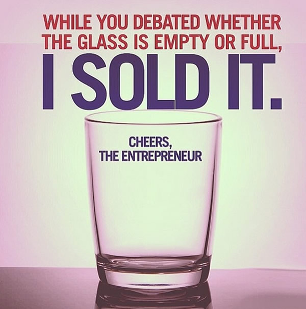 Glass Half Full or Empty?