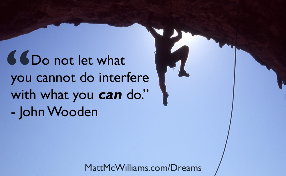 john wooden what you can do quote