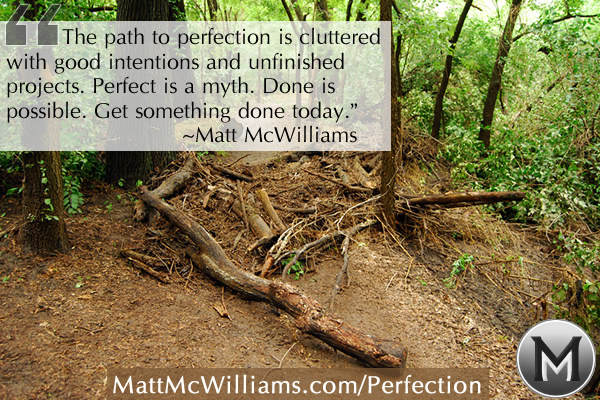 path to perfection