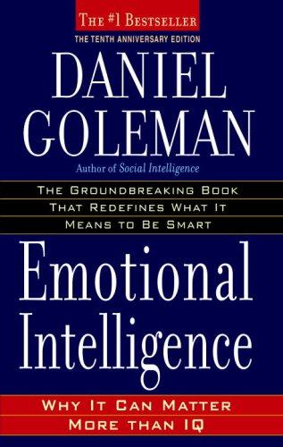 Emotional Intelligence book by Daniel Goleman