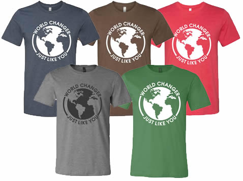 Matt McWilliams World Changer T-Shirts