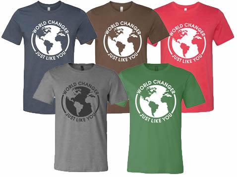 Matt McWilliams World Changer T-Shirts