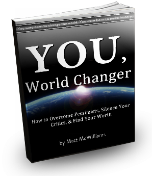 You, World Changer Book