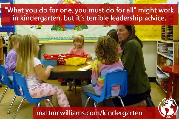 Kindergarten Leadership