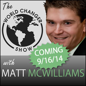 World Changer Show Coming Soon