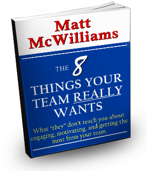 8 things your team really wants book