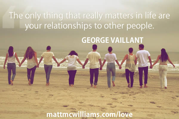 Love Full Stop George Vaillant