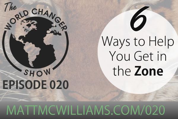 How to get in the zone and focus