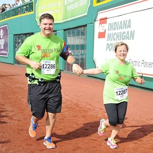 Matt and Tara McWilliams Running Race
