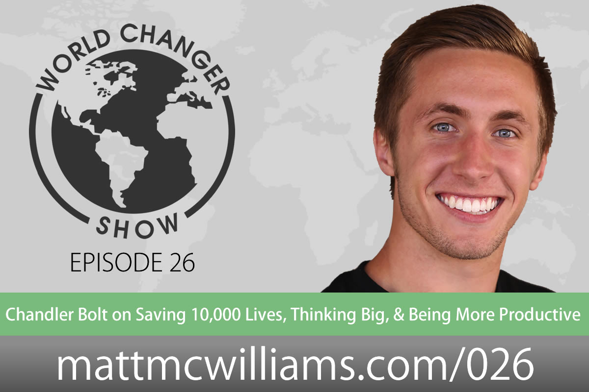 Podcast interview with Chandler Bolt of Productive Person