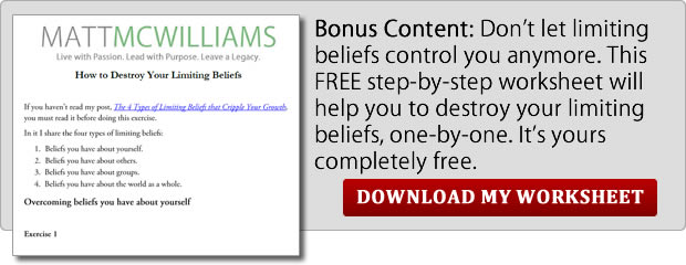 Destroy Limiting Beliefs