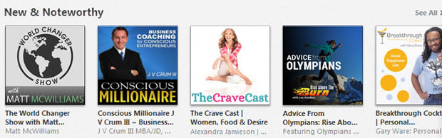 iTunes New and Noteworthy Ranking