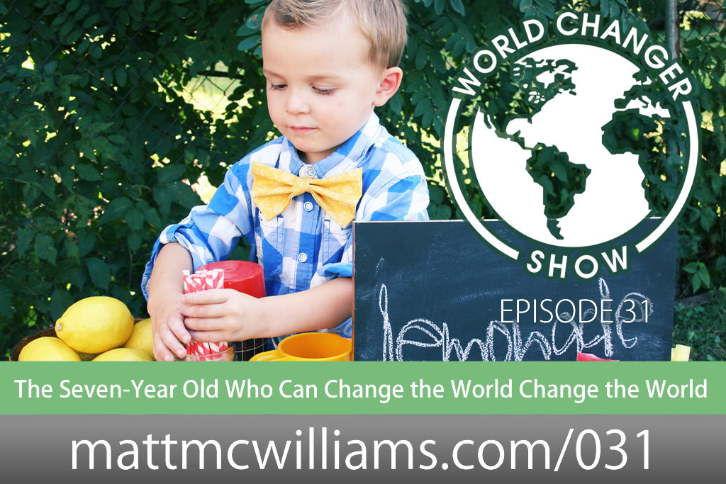 Child Entrepreneur who can change the world