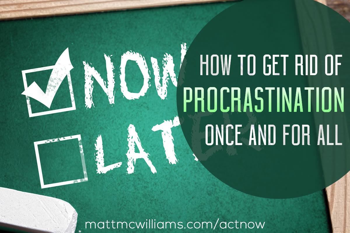 Tony Evans on Procrastination