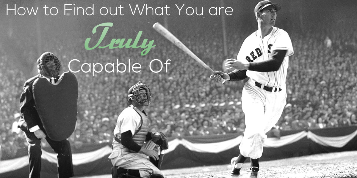 Lesson from the last day of Ted Williams 400 season