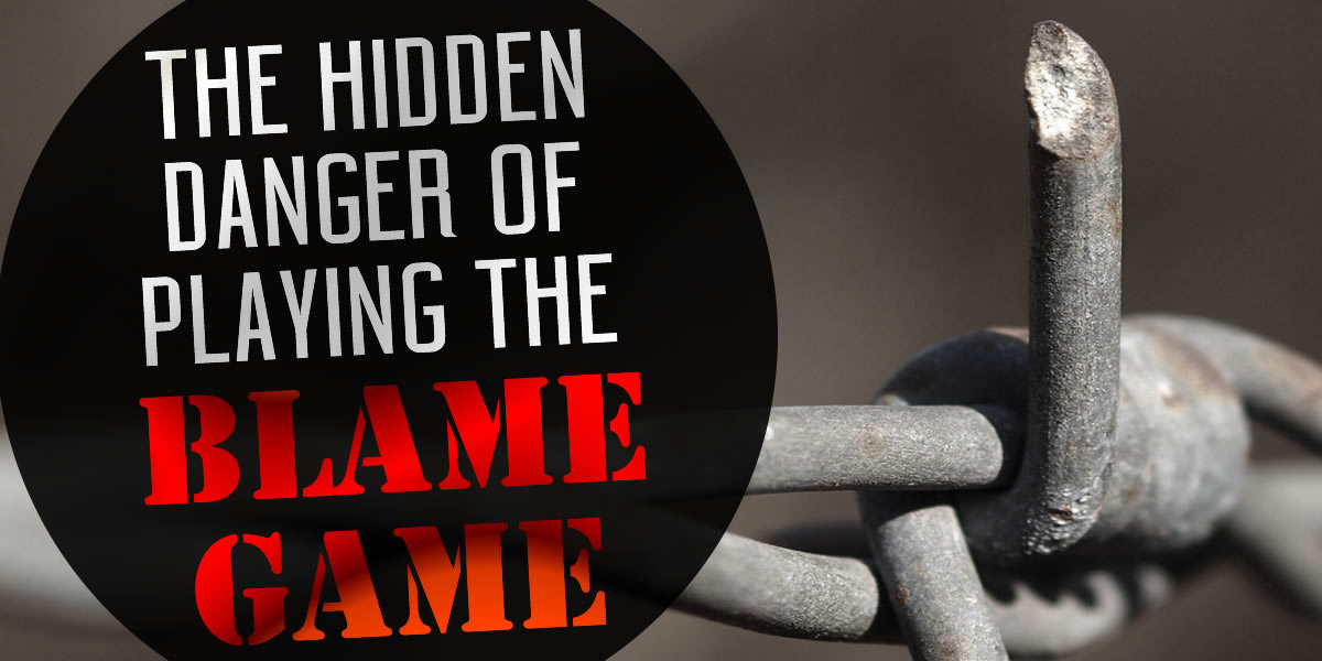 playing the blame game in a relationship