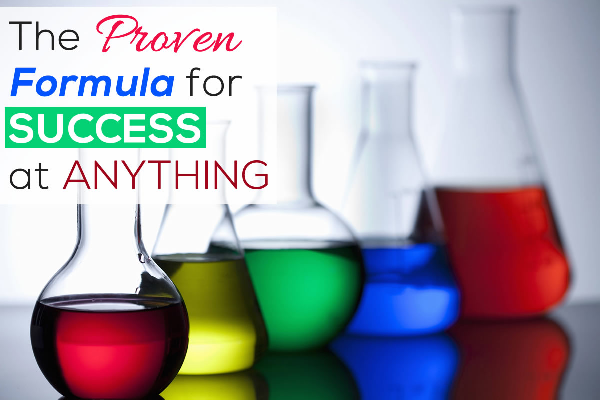 The proven formula for success - Jack Canfield