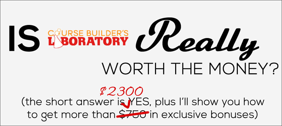 Review of Danny Iny's Course Builder's Laboratory $750 Bonuses