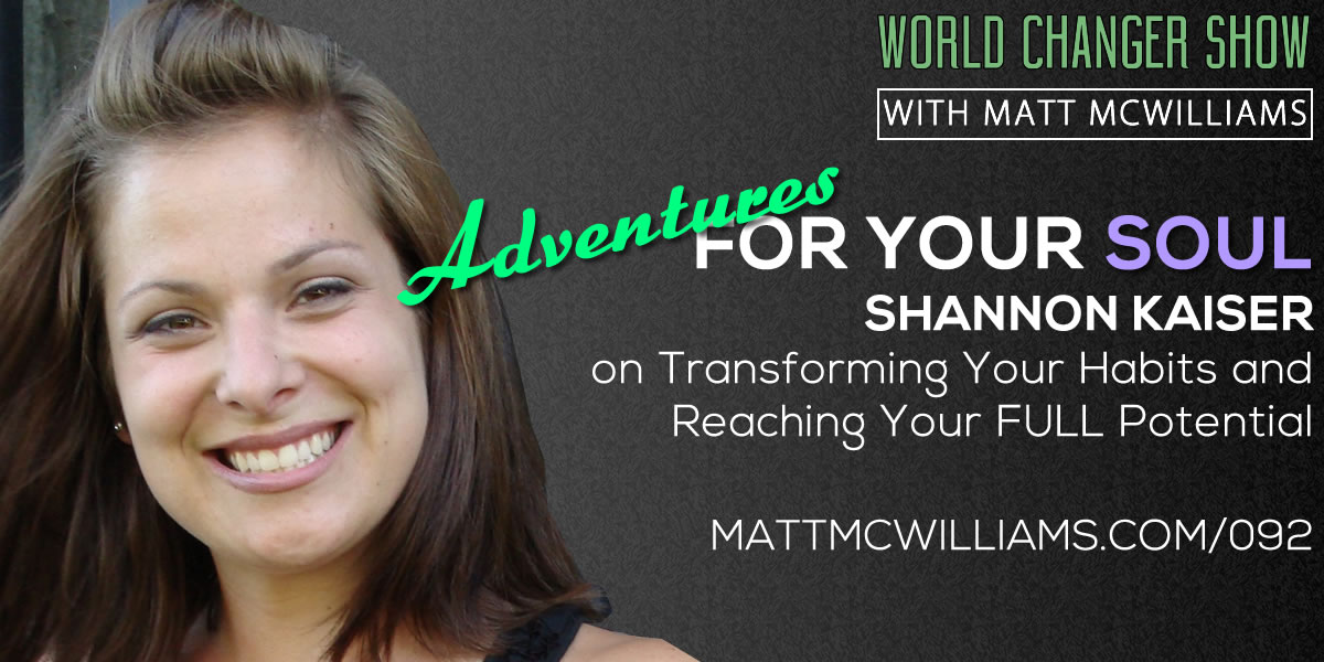 Shannon Kaiser Adventures for your soul