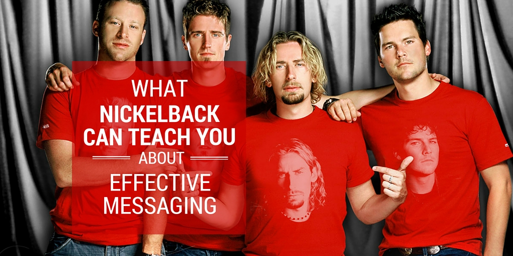 Marketing lesson from Nickelback