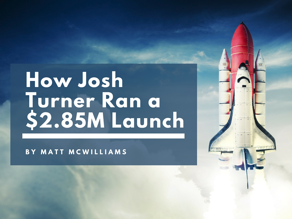 Josh Turner JV launch Appointment Generator