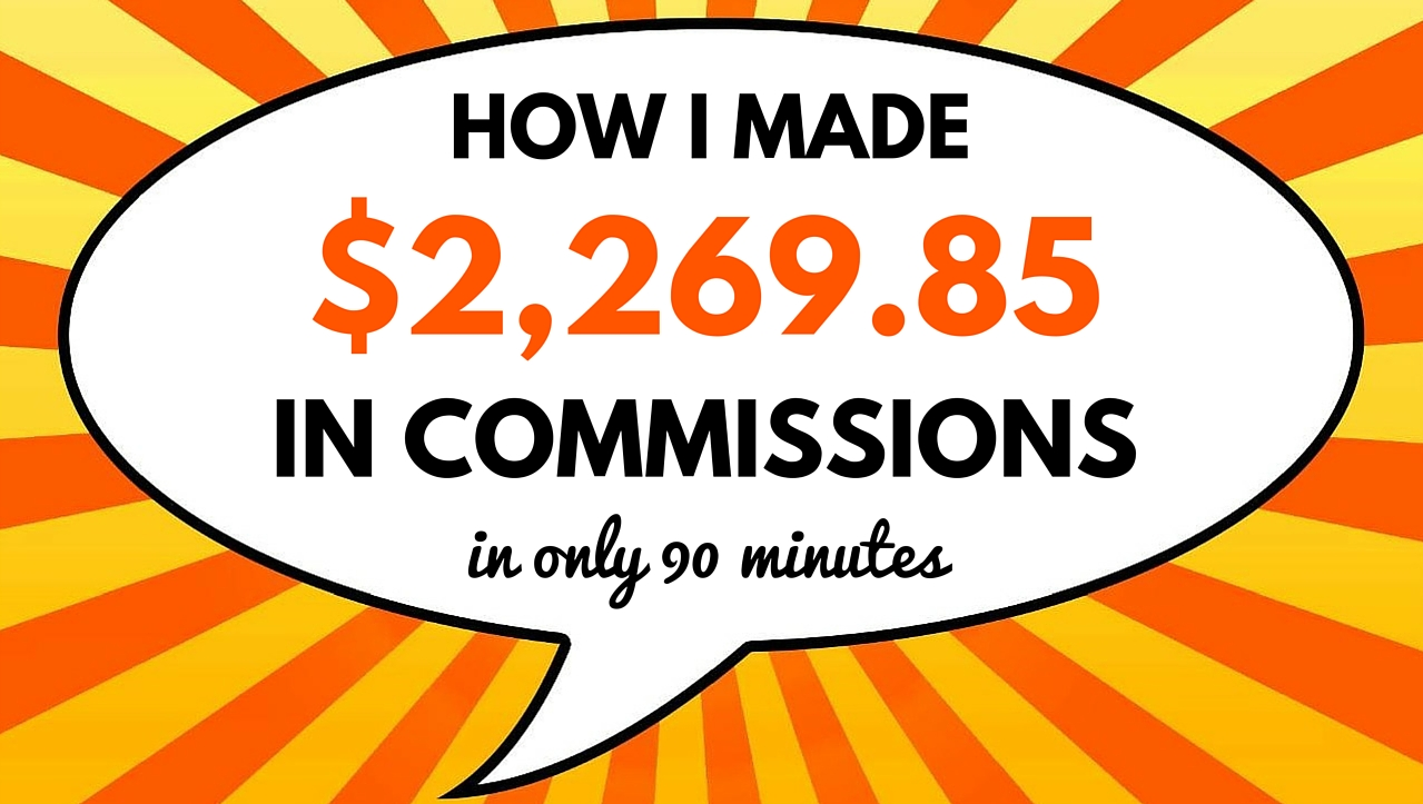 Affiliates using live chat for commissions