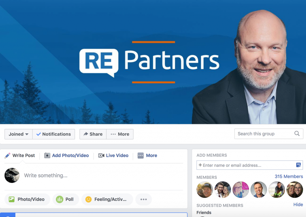 Ray Edwards Partners Facebook Group