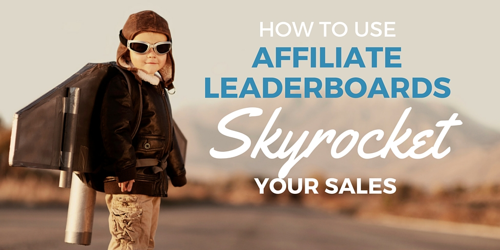 How to do affiliate launch leaderboards